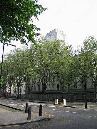 Malet Street - Malet Street and Senate House