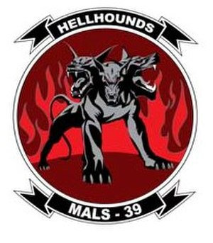 Marine Aviation Logistics Squadron 39 - New MALS-39 insignia