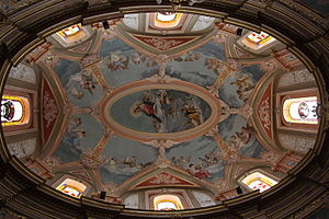Annunciation Church, Mdina - The dome