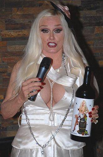Mamie Van Doren - Van Doren at the launch of her new wine in 2007