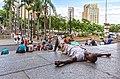 Man sleeping on Catedral Metropolitana de São Paulo.jpg