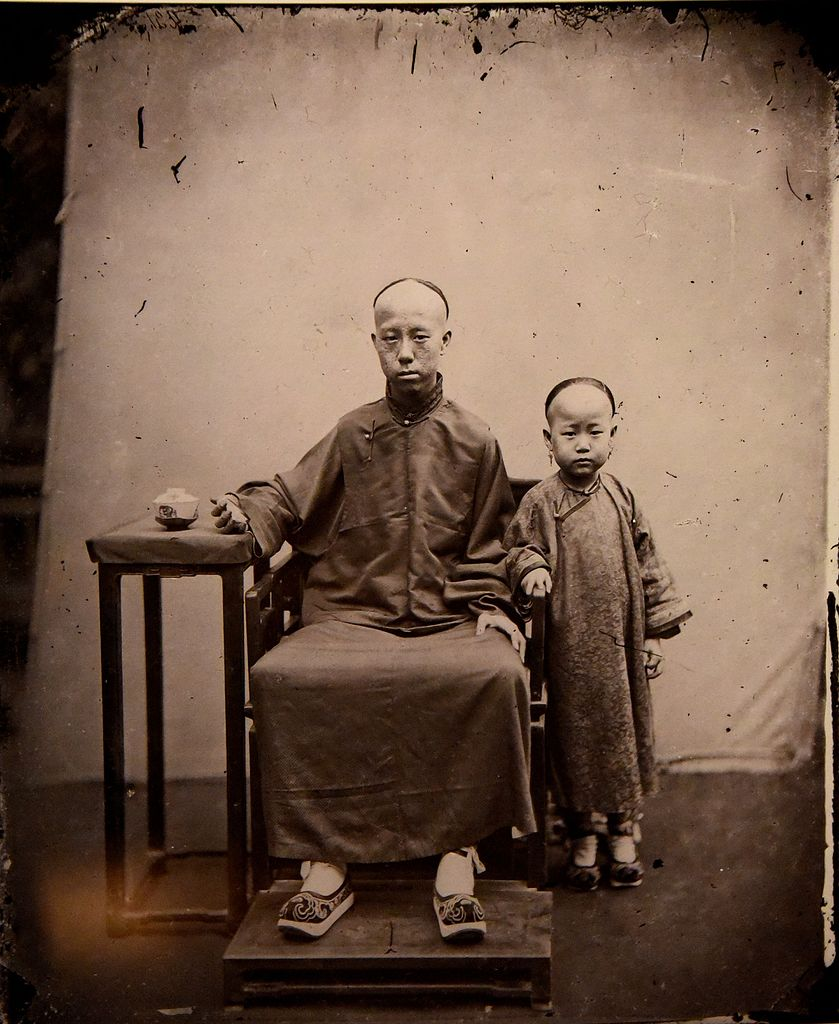 File Mandarin And Son John Thomson China 1869 The