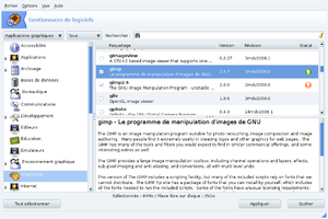 Mandriva Linux - Rpmdrake, Mandriva's graphical package manager