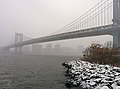 Manhattan Bridge during snow storm January 2014.jpeg