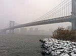 Manhattan Bridge during snow storm January 2014.jpeg