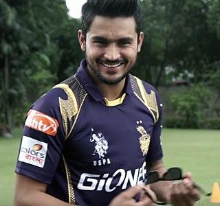 Manish Pandey Indian cricketer