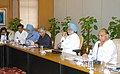 Manmohan Singh presiding a meeting of the Agriculture Coordination Committee, in New Delhi. The Union Minister for Agriculture, Consumers Affairs, Food & Public Distribution, Shri Sharad Pawar and the Deputy Chairman.jpg