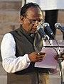 Mansukhbhai Dhanjibhai Vasava oath as Minister.jpg