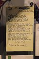 Manuscript of Lyrics for Riders on the Storm - Rock and Roll Hall of Fame (2014-12-30 14.00.44 by Sam Howzit).jpg