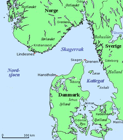 kart skagerak Skagerrak – Wikipedia