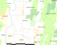 Map commune FR insee code 25450.png