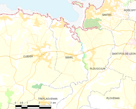 Map commune FR insee code 29276.png