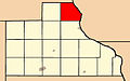 Map highlighting Tete Des Mortes Township, Jackson County, Iowa.jpg