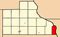 Map highlighting Union Township, Jackson County, Iowa.jpg