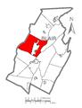 Map of Logan Township, Blair County, Pennsylvania Highlighted.png