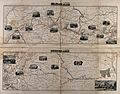 Maps of the French countryside with railway lines and trains Wellcome V0041105.jpg