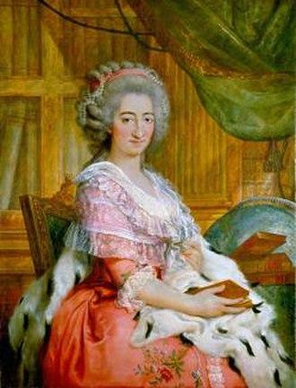 Maria Beatrice d'Este, Duchess of Massa - Image: Maria Beatrice d'Este, Archduchess of Austria by Francesco Corneliani