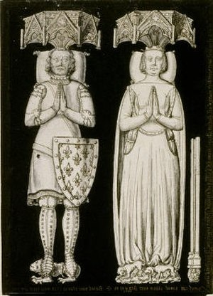 Maria de La Cerda y de Lara - Maria and her second husband Charles