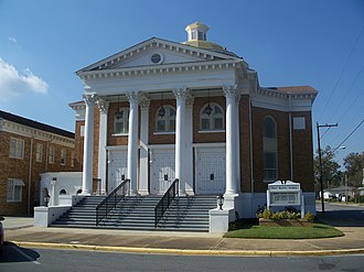 National Register of Historic Places listings in Jackson County, Florida - Image: Marianna Hist Dist bldg 22 01