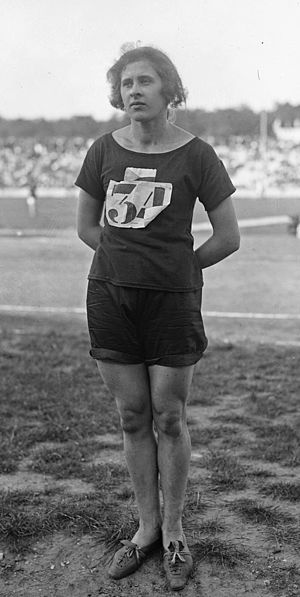 1922 Women's World Games -  Marie Mejzlíková II