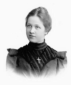 Marie Under - Marie Under circa 1899.