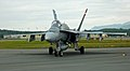 Marine Corps F-18 at the 2010 Arctic Thunder on Elmendorf AFB, Anchorage, Alaska (5216504426).jpg