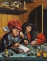 Marinus van Reymerswaele (Follower of) - The Money Changers - Google Art Project.jpg