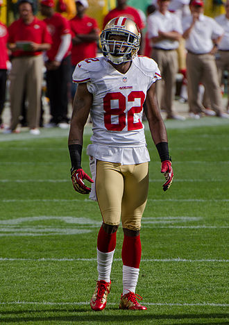 Mario Manningham - Manningham with the 49ers in 2012