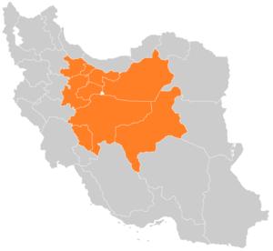 Central Iran - Image: Markaz Iran Centr