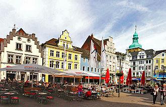Recklinghausen - Image: Markt Recklinghausen