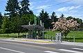 Marshall Community Center westbound Vine station.jpg