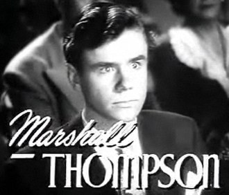 Marshall Thompson - in Twice Blessed (1945)