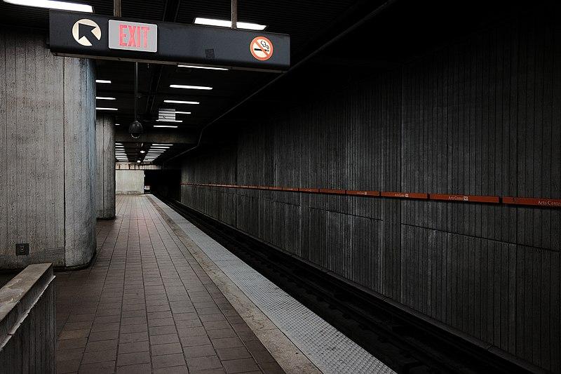 Estação de metrô em Atlanta
