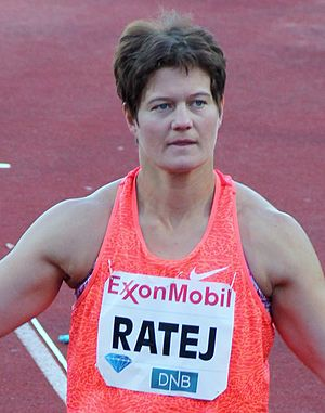 Martina Ratej - Martina Ratej at the 2015 Bislett Games