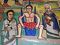 Martyrdom of Saint George - Ura Kidane Mihret (Church) - Zege Peninsula - Near Bahir Dar - Ethiopia (8679556315).jpg