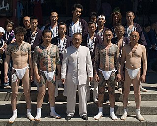 Yakuza Members of traditional transnational organized crime syndicates in Japan