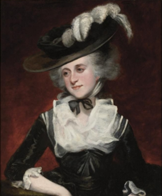 Murrough O'Brien, 1st Marquess of Thomond - Mary O'Brien (née Palmer), Countess of Inchiquin, painted before 1785 by her uncle Sir Joshua Reynolds. Collection of Fairfax House, City of York