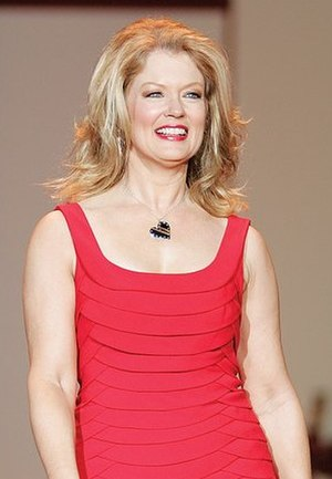 Mary Hart - Hart modeling for The Heart Truth charity fashion show in 2007