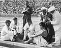 Masanori Yusa, Masaharu Taguchi, Shigeo Sugiura and Shigeo Arai 1936.jpg