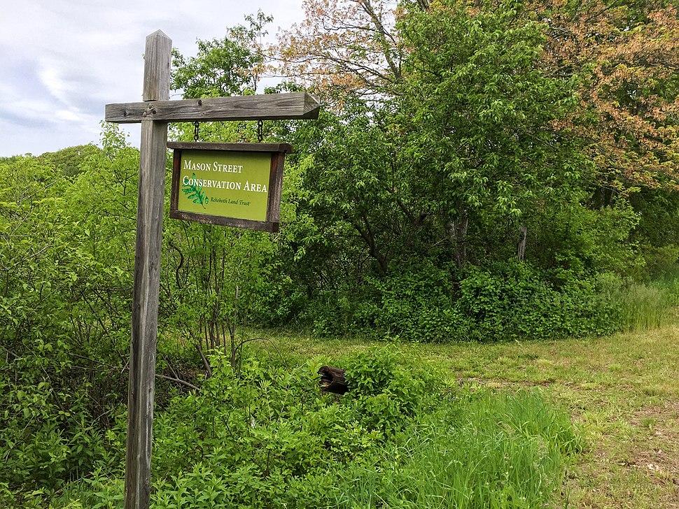 Mason Street Conservation Area, Rehoboth Masschusetts