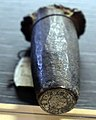 Massa marittima, conio del rovescio per il denaro piccolo, 1317-19 ca.jpg
