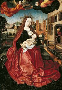Master of Frankfurt Madonna and Child.JPG