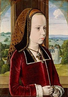 MASTER of Moulins Margaret of Austria 1490-91