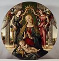 Master of S Spirito - Madonna and Child with Two Angels - Walters 37432.jpg