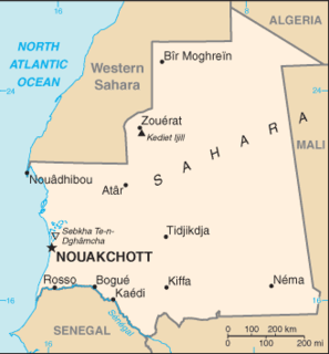 2005 Mauritanian coup détat Military overthrow of Maaouya Ould SidAhmed Taya