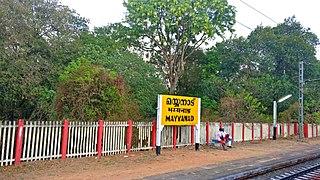 Mayyanad village in Kerala, India
