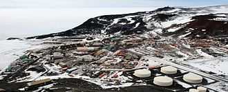 McMurdo Station - McMurdo Station from Observation Hill