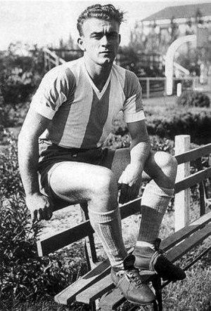 Alfredo Di Stéfano - Di Stéfano with Argentina in 1947