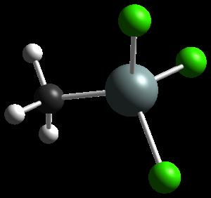 Methyltrichlorosilane - Image: Me Si Cl 3 Spartan MP2 CM 3D balls