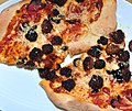 Meatball pizza with Italian sausage and pepperoni.jpg